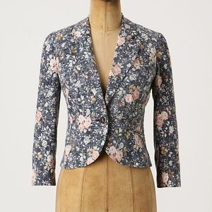 Daughters of the Liberation Anthro floral blazer 4